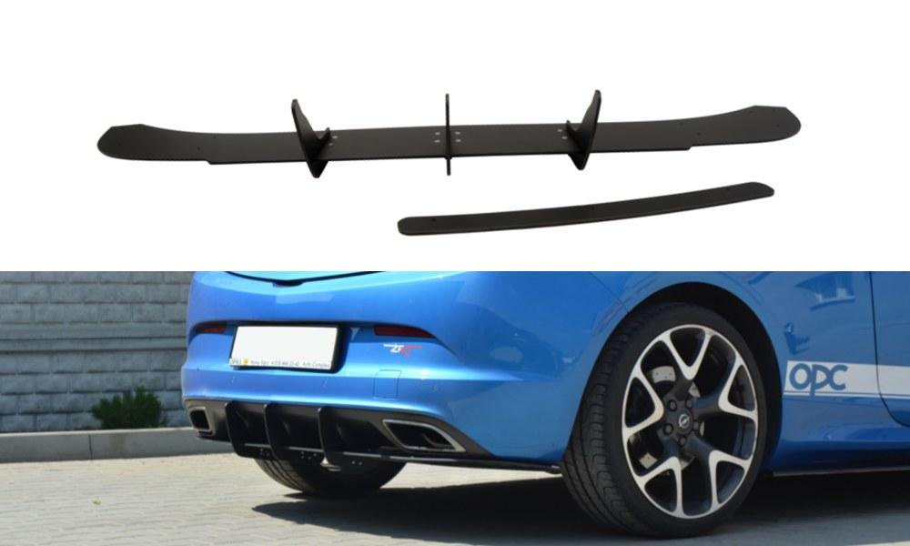 Dyfuzor Tylny Opel Astra J OPC / VXR - GRUBYGARAGE - Sklep Tuningowy